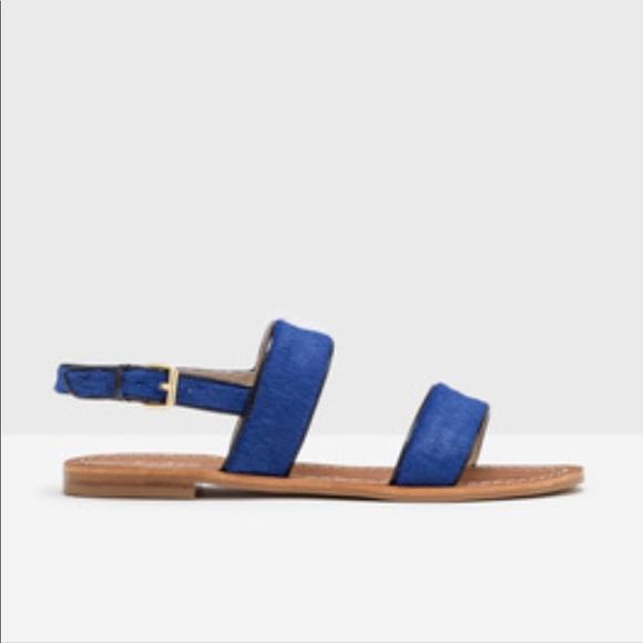 Louisa Flat Sandals Euc | Poshmark